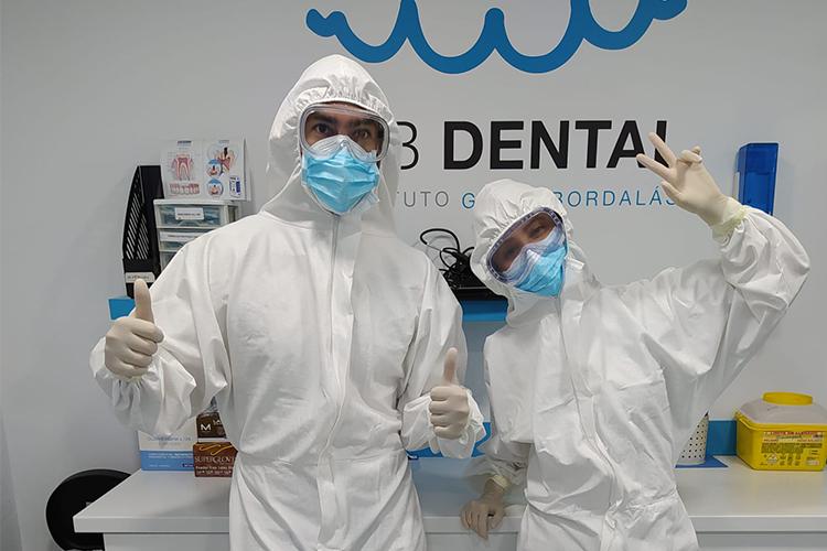 Reabrimos nuestras clínicas con estrictas medidas de seguridad e higiene